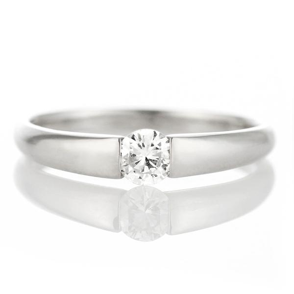 伏せこみの婚約指輪