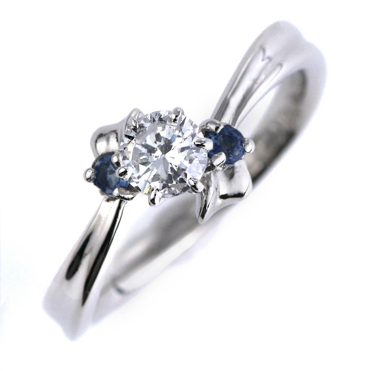 d03d95563d 婚約指輪 ダイヤモンド プラチナリング 一粒 大粒 指輪 エンゲージリング 0.4ct プロポーズ用 レディース