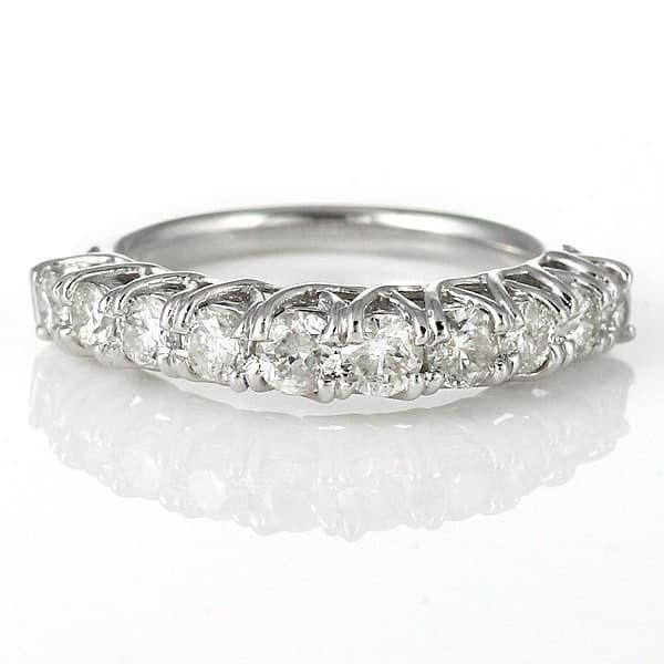 4e920e5c09 スイート エタニティ ダイヤモンドプラチナリング 指輪 プラチナ900 1カラット 1.0ct 結婚 婚約 10年
