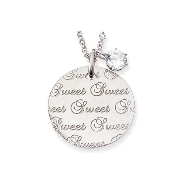Brand Jewelry me. Sweet&Sweetリバーシブルプレートネックレス