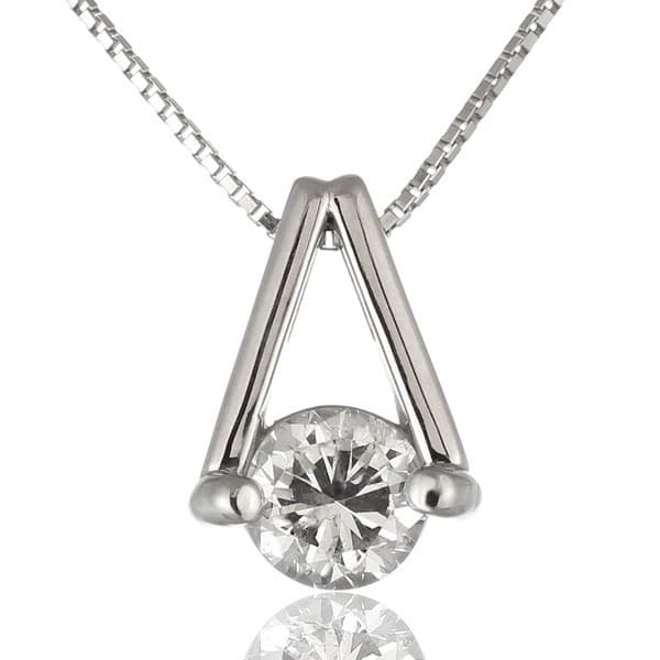 1カラットダイヤモンドネックレス | SUEHIRO