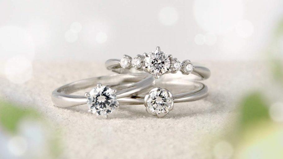 20年前にここでダイヤモンドの婚約指輪を買って、またこのお店で