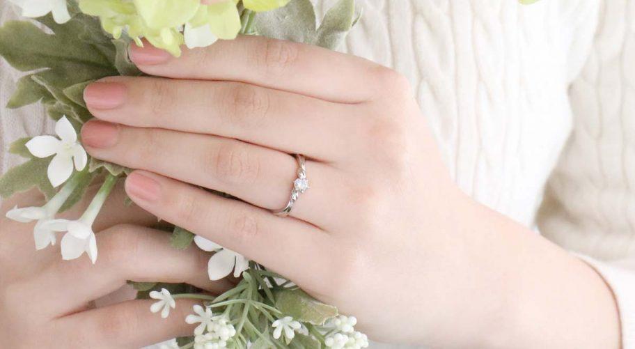 ダイヤモンドの大きさや質にこだわりのある方には、とってもオススメ