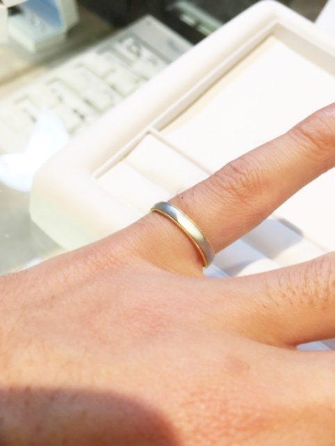 指輪を丁寧に紹介して頂き、とても勉強になりました