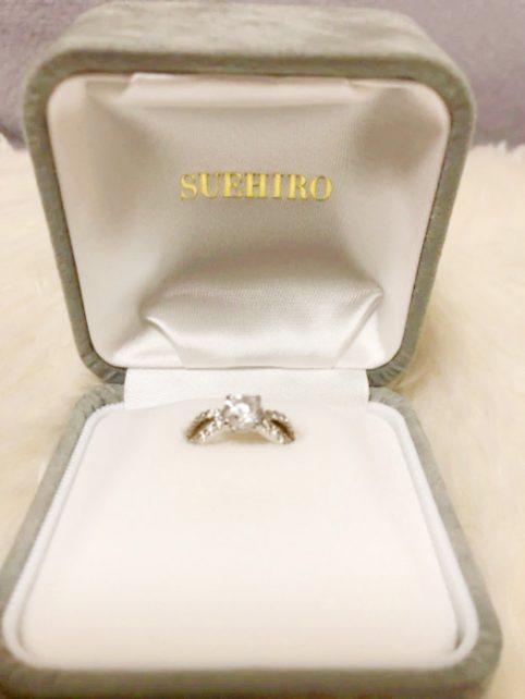 ダイヤモンドが他のブランドよりもお手頃価格で買えました!(^^)