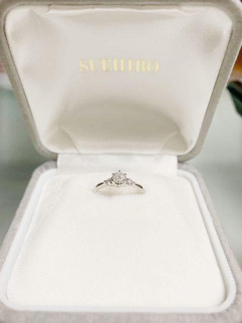 結婚指輪もここのお店で購入しようと思ってます!