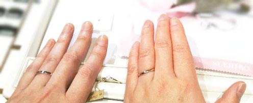 婚約指輪と結婚指輪を購入しましたが大変満足しています。